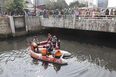 BKSDA Jakarta: Jika Seminggu Tak Muncul, Buaya di Kali Grogol Telah Berpindah