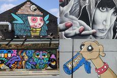 Sebagai Street Art, Mural Terkait Erat dengan Arsitektur Perkotaan