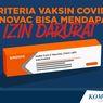 INFOGRAFIK: 5 Kriteria Vaksin Covid-19 Sinovac Bisa Dapat Izin Darurat
