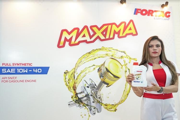 PT Meka Niaga Utama baru saja menghadirkan pelumas dengan brand FORTAG Maxima untuk mengakomodir kemajuan teknologi dan manufaktur kendaraan khususnya spesifikasi mesin mobil baru.