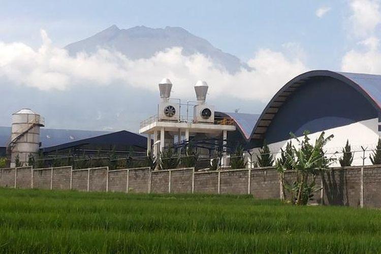 Pabrik milik Gudang Garam di Temanggung, Jawa Tengah.