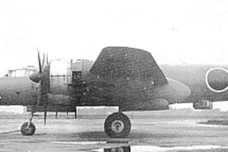 Pesawat pengebom jarak Jauh buatan Kekaisaran Jepang Era Perang Dunia II, Nakajima G8N Renzan.