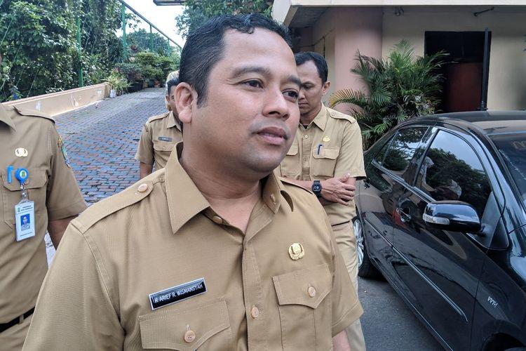 Wali Kota Tangerang Arief Wismansyah saat ditemui di Kantor Dinas Kesehatan Kota Tangerang, Selasa (3/3/2020)
