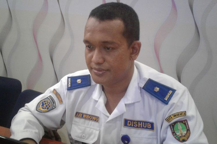 Kepala Bidang Lalu Lintas Dinas Perhubungan Kota Surakarta Ari Wibowo.