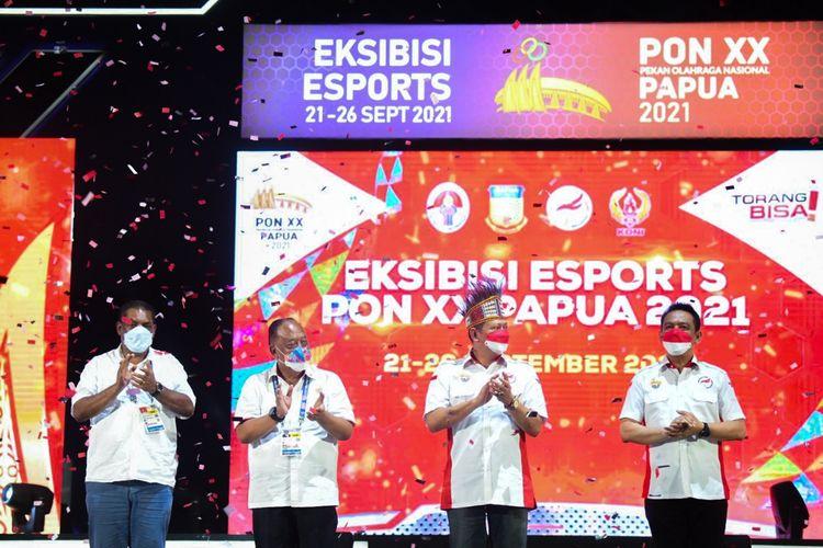 Rangkaian Ekshibisi Esports Pekan Olahraga Nasional (PON)XX Papua 2021 yang digelar di Jayapura, Papua, resmi ditutup.