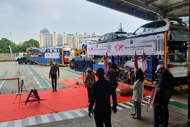 Persiapan pelepasan ekspor gelobal Daihatsu