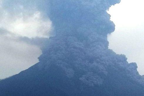 Gunung Sinabung Kembali Erupsi, Tinggi Kolom Erupsi Hingga 2.000 Meter