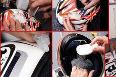 Pemilik Motor Wajib Bersihkan Helm untuk Cegah Penularan Corona di Udara