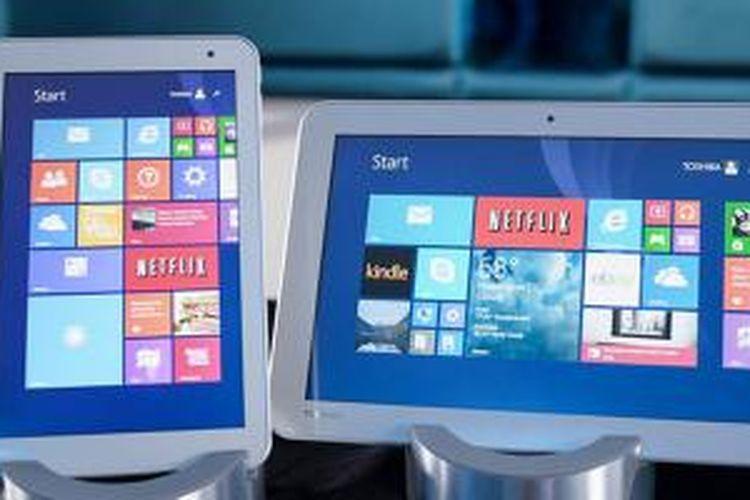 Toshiba Encore 2 tersedia dalam pilihan ukuran layar 8 inci dan 10 inci