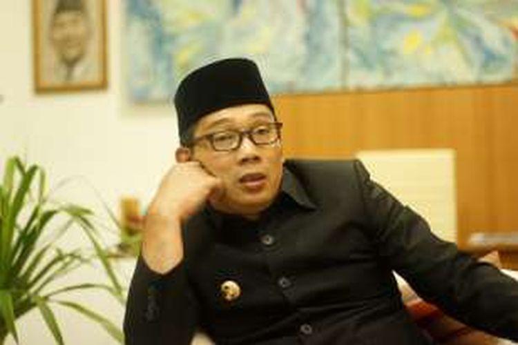 Walikota Bandung Ridwan Kamil di rumah dinasnya, Senin (29/2/2016)
