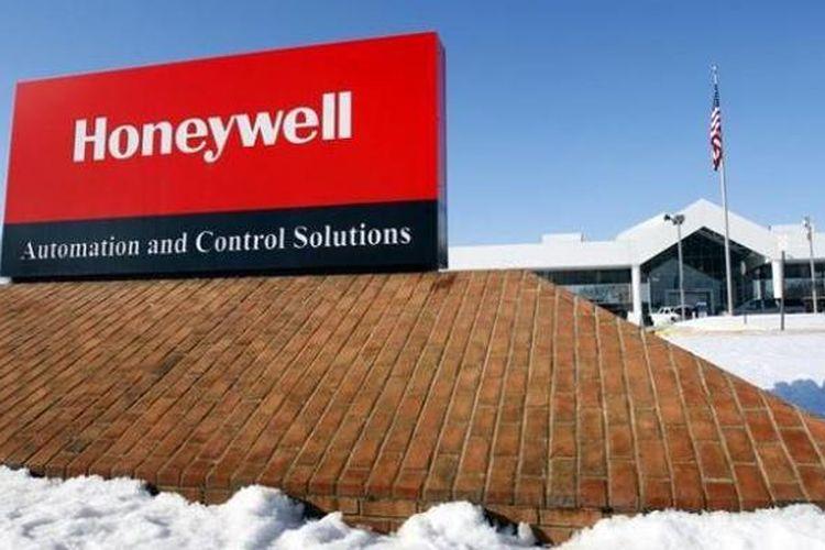 Ilustrasi logo Honeywell.