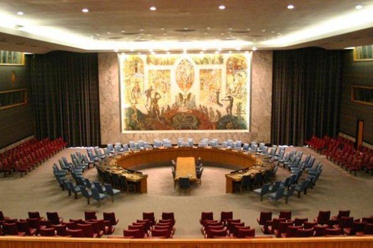 Ruang sidang Dewan Keamanan PBB.