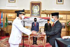 Gubernur Sulsel Lantik Rudi Djamaludin sebagai Pj Wali Kota Makassar