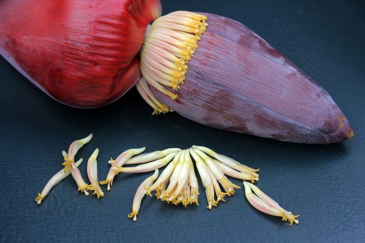 Ilustrasi jantung pisang.