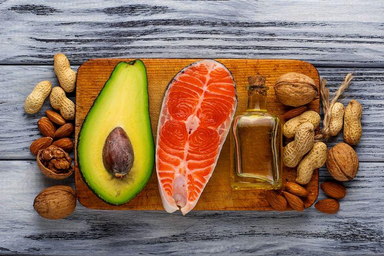 Makanan sehat yang menggandung lemak sehat atau omega 3