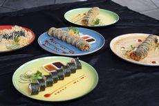 Restoran Jepang di Kota Batu Sajikan Sushi Ayam Geprek dan Rasa Nusantara Lain