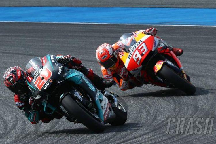 Marc Marquez dan Fabio Quartararo