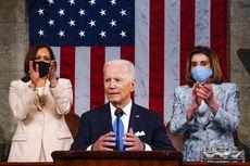 Pertama dalam Sejarah, Presiden AS Diapit Dua Wanita di Depan Kongres