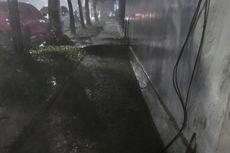 Banyak Sampah, Selokan Komplek Rumah Menteri di Jalan Denpasar Mudah Meluap Saat Hujan