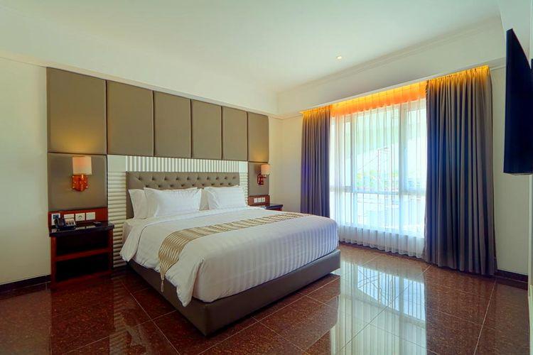 Ilustrasi hotel syariah - Tipe kamar Grand Rohan Suite di hotel Grand Dafam Rohan Jogja.