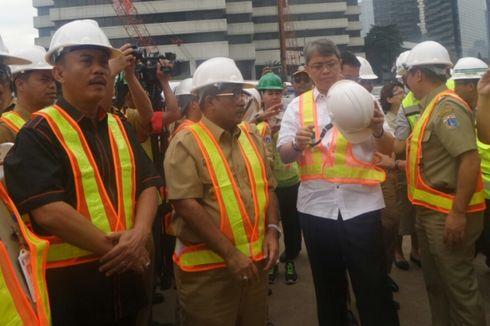 Sumarsono Ajak Pimpinan DPRD DKI Tinjau Terowongan MRT
