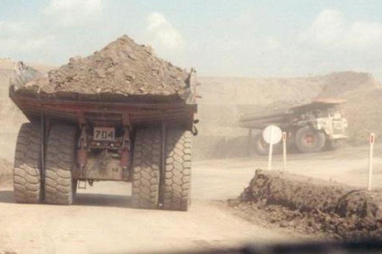 A coal mine in East Kalimantan province