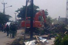 Ratusan Bangunan Liar di Bekasi Utara Dibongkar