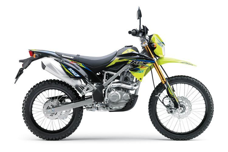 Warna baru Kawasaki KLX 150 untuk tahun 2021