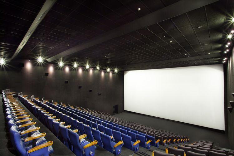 Arena pemutaran di bioskop CGV.