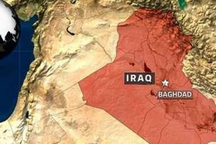 Peta Irak.