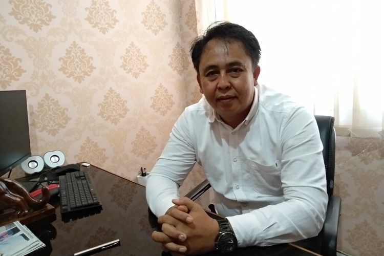 Kasat Reskrim Polres Tasikmalaya Kota AKP Dadang Sudiantoro di kantornya, Senin (9/3/2020).