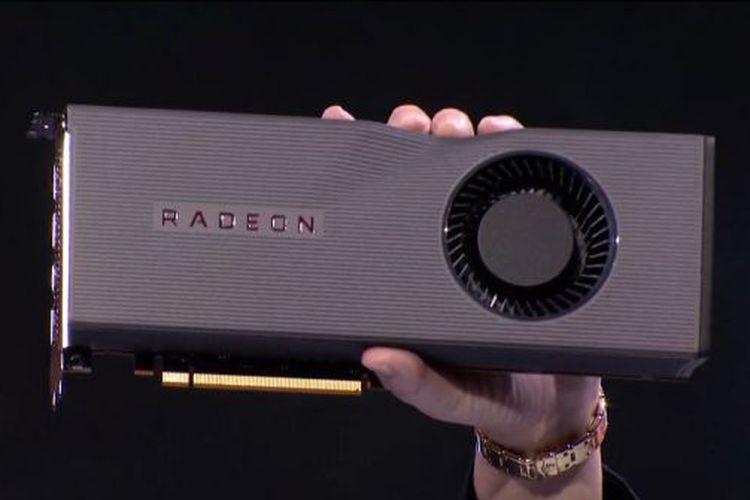 Ilustrasi kartu grafis AMD Radeon RX 5700