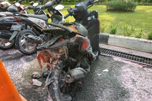 Motor Meledak di Parkiran Kemenlu Disebabkan Korsleting