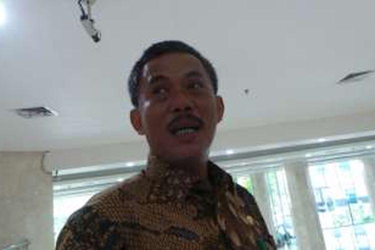 Kepala DPRD DKI Jakarta Prasetio Edi Marsudi, di DPRD DKI Jakarta, Selasa (23/8/2016).