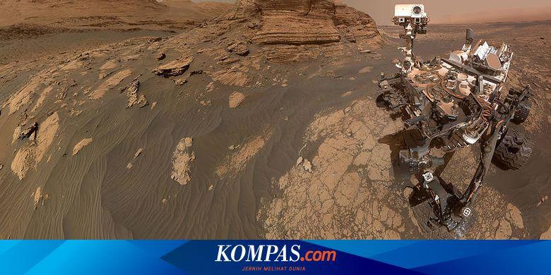 Wahana Mars Curiosity Milik NASA Selfie di Mont Mercou, Ini Fotonya