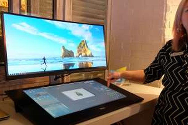 Dell Canvas ditujukan bagi para pekerja kreatif