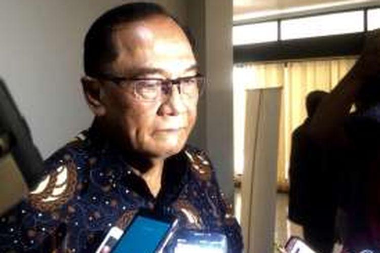 Anggota Dewan Pertimbangan Presiden (Wantimpres), Sidarto Danu Subroto dalam diskusi
