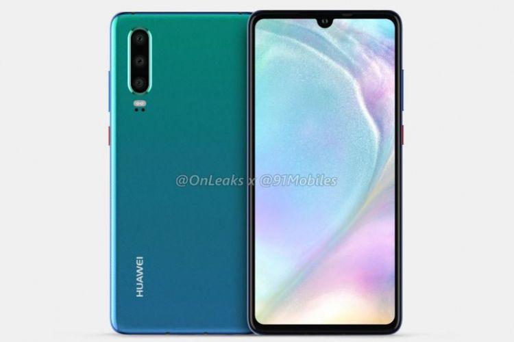 Ilustrasi Huawei P30