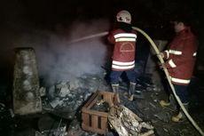 Kebakaran Rumah Semi Permanen di Serpong Hanguskan 4 Kambing dan 1 Motor