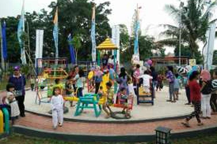 TPTRA Akasia yang dibangun oleh Tanoto Foundation, diresmikan Jumat (21/10/2016).