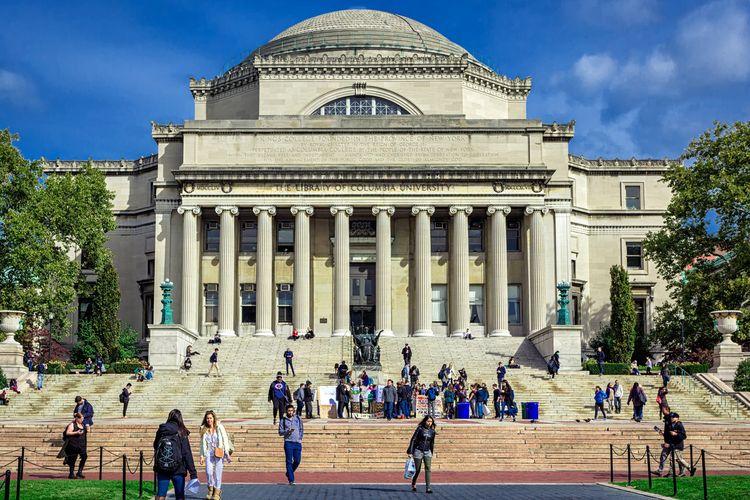 Ilustrasi Columbia University