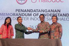 Startup Halodoc Kerja Sama Riset dengan Ikatan Dokter Indonesia