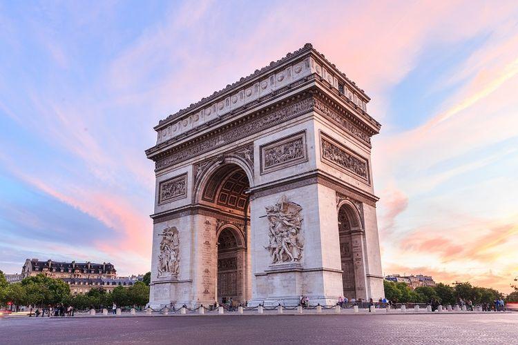 Arc de Triomphe di Perancis.