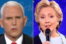Tak Hanya Mike Pence, Lalat Juga Hinggap di Dahi Hillary Clinton Saat Debat