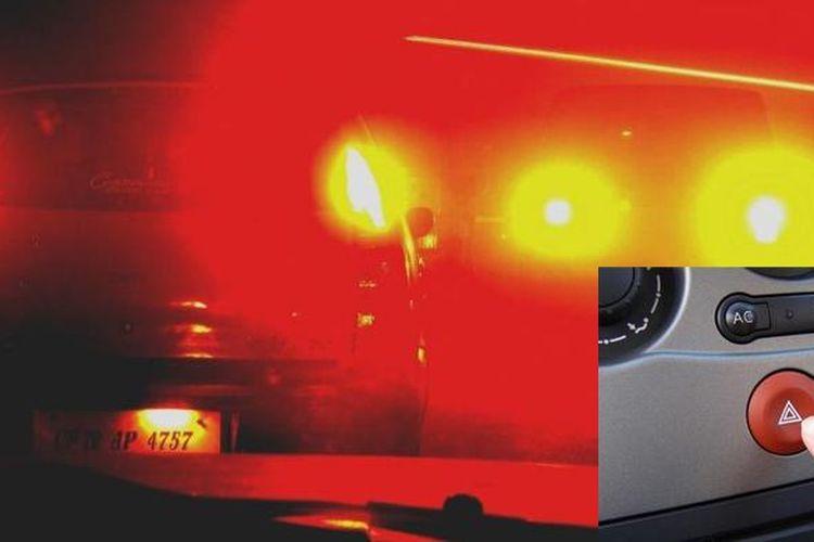 Salah kaprah penggunaan lampu hazard