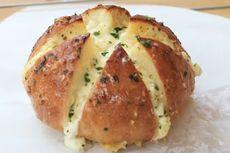 Resep Korean Garlic Bread Tanpa Oven, Pakai Panci, dan Tidak Perlu Diulen