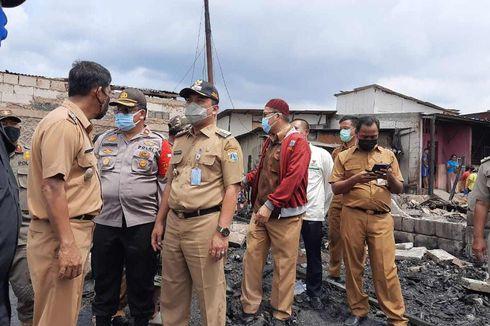 Pemkot Pastikan Protokol Kesehatan Diterapkan di Pengungsian Korban Kebakaran Cengkareng Timur