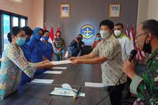 Sido Muncul Salurkan Bantuan Rp 720 Juta kepada Ahli Waris Awak KRI Nanggala 402