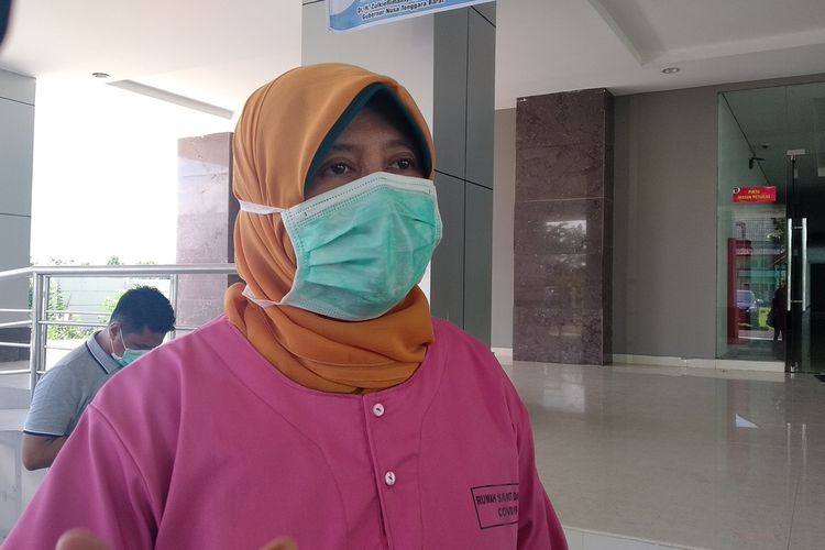Kepala Dinas Kesehatan NTB, Nurhandini Eka Dewi