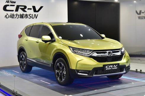 Honda Ramaikan China dengan CR-V Hibrida